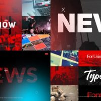 VIDEOHIVE NEWS DYNAMIC OPENER