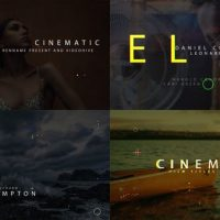 VIDEOHIVE FILM TITLES OPENER V2