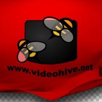 VIDEOHIVE CLOTH LOGO REVEAL