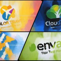 VIDEOHIVE WATERCOLOR AND PAINT LOGO