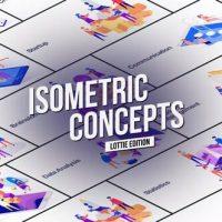 VIDEOHIVE ISOMETRIC CONCEPT – LOTTIE EDITION