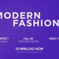 VIDEOHIVE MODERN FASHION