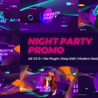 VIDEOHIVE NIGHT PARTY PROMO