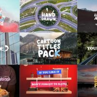 VIDEOHIVE CARTOON TITLES PACK | PREMIERE PRO MOGRT