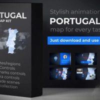 VIDEOHIVE PORTUGAL MAP – PORTUGUESE REPUBLIC MAP KIT