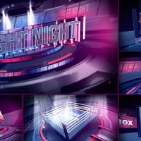 FIGHT NIGHT BROADCAST PACKAGE – AFTER EFFECTS PROJECT (VIDEOHIVE)