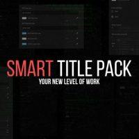 VIDEOHIVE SMART TITLE PACK – PREMIERE PRO