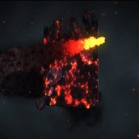 VIDEOHIVE FIRE SPIN LOGO