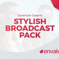 VIDEOHIVE STYLISH BROADCAST PACK | ESSENTIAL GRAPHICS | MOGRT – PREMIERE PRO