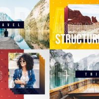 VIDEOHIVE VLOG INTRO / YOUTUBE CHANNEL / TRAVEL BLOG OPENER / DYNAMIC TYPOGRAPHY