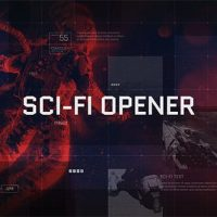 VIDEOHIVE SCI-FI OPENER / HI-TECH SLIDESHOW / FUTURISTIC FILM CREDITS / HUD ELEMENTS / SPACE SCIENCE