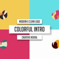 VIDEOHIVE MODERN & CLEAN LOGO – COLORFUL INTRO – PREMIERE PRO