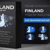VIDEOHIVE FINLAND MAP – REPUBLIC OF FINLAND MAP KIT