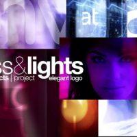 VIDEOHIVE GLASS & LIGHTS ELEGANT LOGO