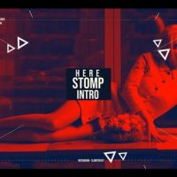 VIDEOHIVE ACTIONABLE COLORFUL STOMP INTRO