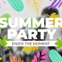 VIDEOHIVE SUMMER TITLE ELEMENTS