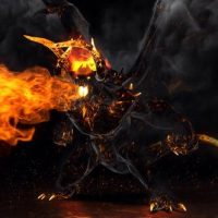 VIDEOHIVE FLAME DEMON – FIRE LOGO
