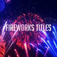 VIDEOHIVE FIREWORKS TITLES