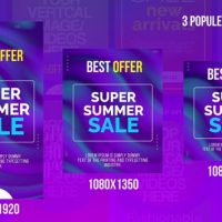 VIDEOHIVE COLORFUL INTRAGRAM STORIES