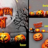 VIDEOHIVE HALLOWEEN TEASER PROMO PACK – PREMIERE PRO