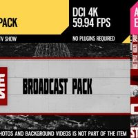 VIDEOHIVE LINE NEWS (BROADCAST PACK)