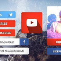 VIDEOHIVE MODERN SOCIAL MEDIA LOWER THIRDS