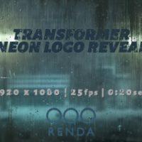 VIDEOHIVE TRANSFORMER NEON LOGO REVEAL