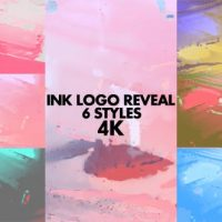 VIDEOHIVE INK LOGO REVEAL