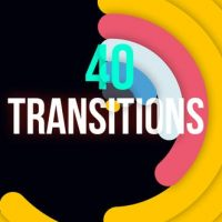 VIDEOHIVE MINIMAL COLORFUL TRANSITIONS – PREMIERE PRO