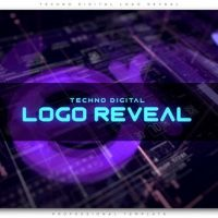 VIDEOHIVE TECHNO DIGITAL LOGO REVEAL