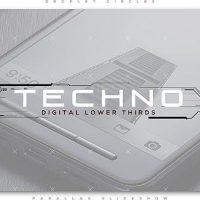 VIDEOHIVE TECHNO DIGITAL LOWER THIRDS