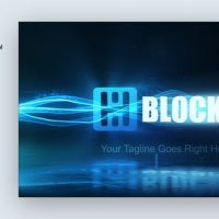 VIDEOHIVE PARTICLE TRAILS LOGO REVEAL