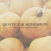 VIDEOHIVE QUOTE INK SLIDESHOW