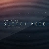 GLITCH MODE – TEXT SEQUENCE AND LOGO INTRO – AFTER EFFECTS PROJECT (VIDEOHIVE)