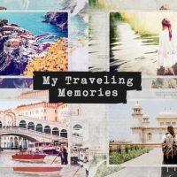 VIDEOHIVE TRAVELING MEMORIES / JOURNEY PHOTO ALBUM / FAMILY AND FRIENDS / ADVENTURE SLIDESHOW