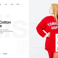VIDEOHIVE MINIMAL FASHION STORE / CLEAN MARKET PROMO / CLOTHES COLLECTION SHOP / PRODUCT PRESENTATION
