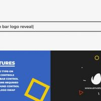 VIDEOHIVE SEARCH BAR LOGO REVEAL 25000766