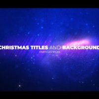VIDEOHIVE CHRISTMAS OPENER WITH PARTICLES