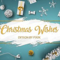 VIDEOHIVE CHRISTMAS WISHES   AFTER EFFECTS TEMPLATE