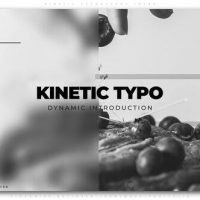 VIDEOHIVE KINETIC TYPOGRAPHY INTRO