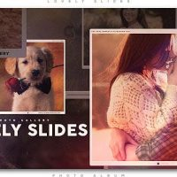 VIDEOHIVE LOVELY SLIDES PHOTO GALLERY