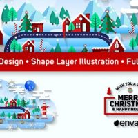 VIDEOHIVE MERRY CHRISTMAS 20945756