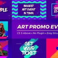 VIDEOHIVE ART PROMO EVENT