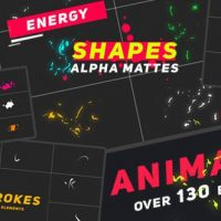 VIDEOHIVE ANIMATED ELEMENTS SHAPES – MOTION GRAPHICS
