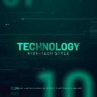 VIDEOHIVE HIGH TECHNOLOGY PROMO SLIDESHOW