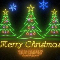VIDEOHIVE NEON LIGHT CHRISTMAS – PREMIERE PRO