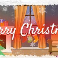 VIDEOHIVE MERRY CHRISTMAS LOGO