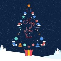 VIDEOHIVE CHRISTMAS LOGO 13706461