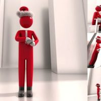VIDEOHIVE CHRISTMAS GREETINGS WITH BUSINESSMAN