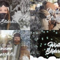 VIDEOHIVE WINTER OPENER | AFTER EFFECTS